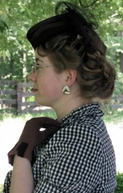 august tutorial 1930s short curled
