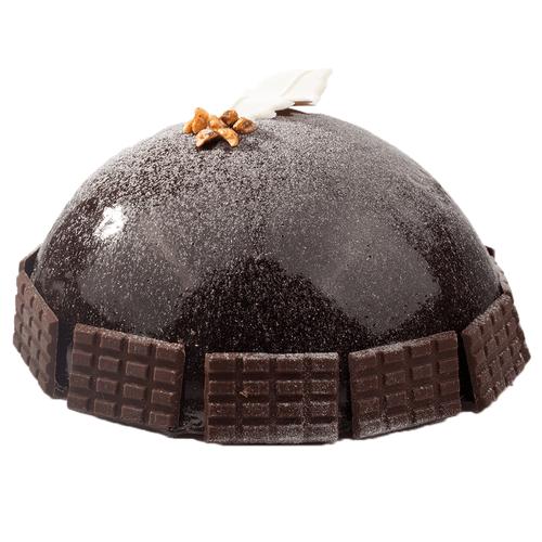 Chocolade bombe bavarois