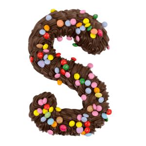 Chocoladeletter Puur Smarties
