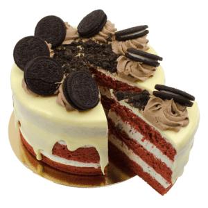 Oreo Velvet Layer Cake