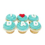 I love u Dad cupcakes