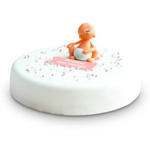 3D Geboortetaart Meisje