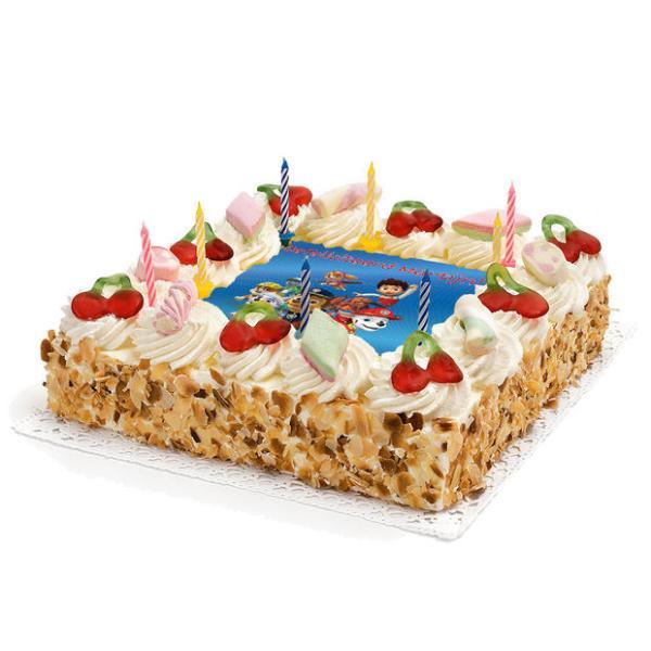 Paw-Patrol Verjaardags taart