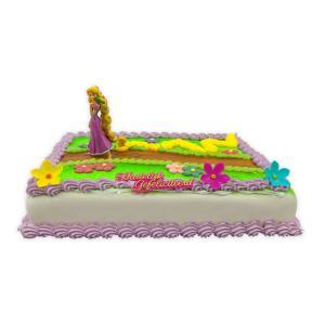 Rapunzel marsepein taart