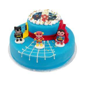 Superhelden stapel taart