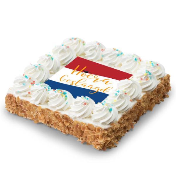 SLAAG room taart