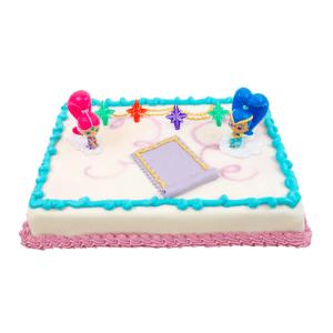 Shimmer en Shine taart
