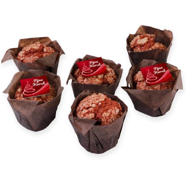 Kerst muffins red-velvet