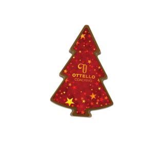 Kerstboom chocolade foto