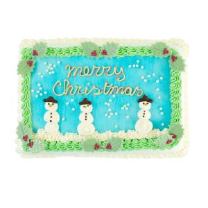 Merry Christmas Snowmancake
