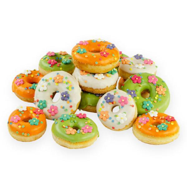 Opgefleurde Feest donuts