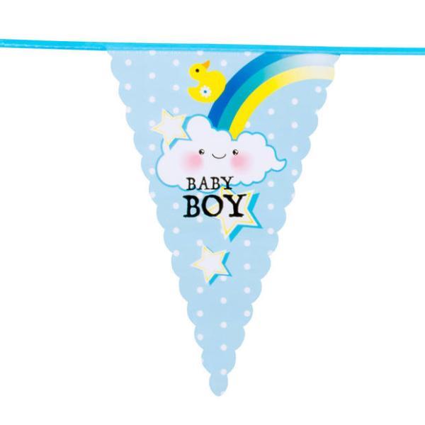 Baby boy vlaggenlijn