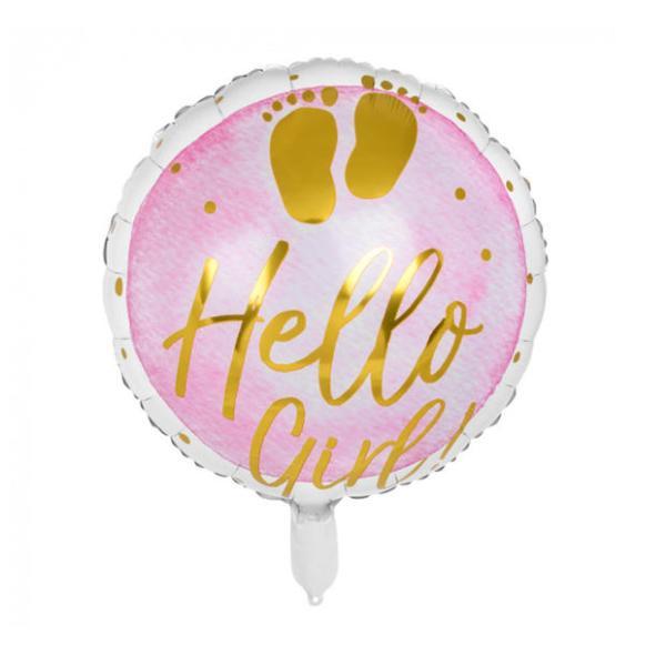Heliumballon Hello Girl