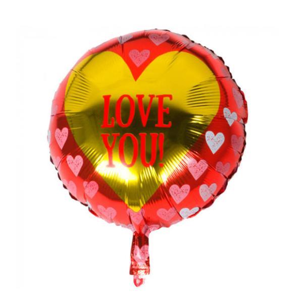 Heliumballon Love you