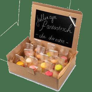 "Macaron box ""Schoolbord"""