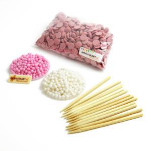 Sweet-Sixteen Pop-its Ruby-chocolade