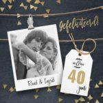 Verjaardagswens 40 jaar
