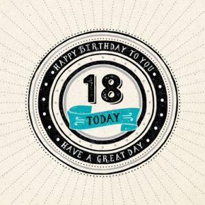 Extreem Verjaardagswensen 18 jaar! Gefeliciteerd 18 jaar! TIP! #MV38