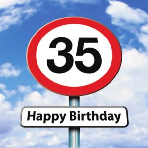 Verjaardagswensen 35 jaar