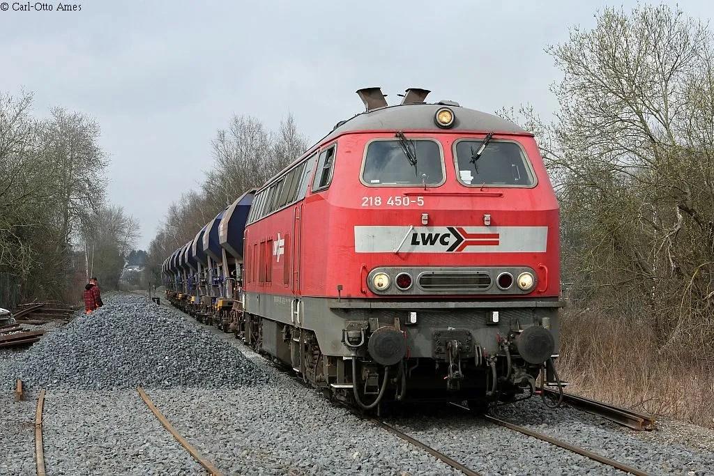 Sanierung Holzbachtalbahn fast abgeschlossen