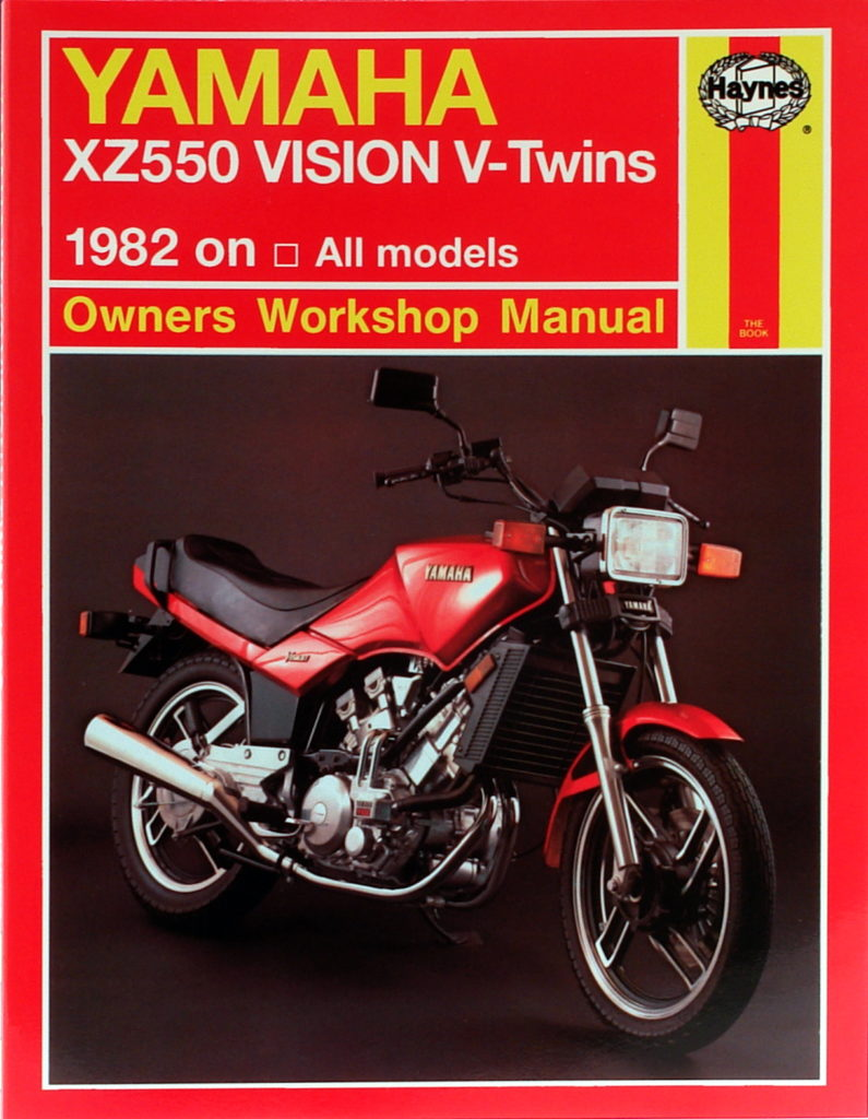hight resolution of yamaha xz550 vision v twins 82 85 haynes verkstadhanbokhaynes verkstadhanbok