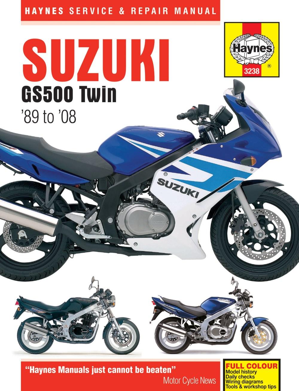 medium resolution of suzuki gs500 twin 89 08 haynes verkstadhanbokhaynes verkstadhanbok suzuki gs500f wiring diagram