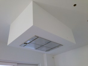 Afzuigkap Koof Plafond Keuken
