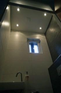 Hangend Plafond Toilet Inbouwspots