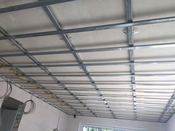 Metal Stud Constructie Woonkamerplafond