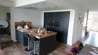 Open Keuken met Verlaagd Plafond Koof