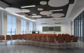 Verlaagd Plafond Aula School