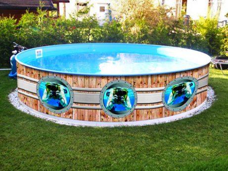 Panorama poolverkleidung verlag bruchmann for Pool design aufkleber