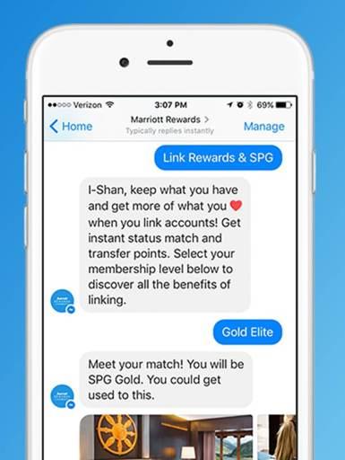 Marriot Rewards Chatbot