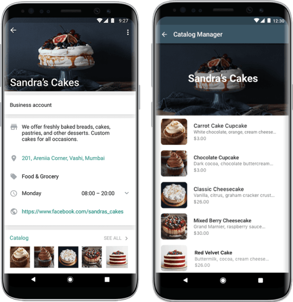 Whatsapp catalog