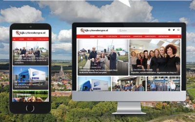 KijkopSteenbergen.nl is volledig vernieuwd!