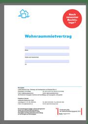 Wohnraum-Mietvertrag - Mietvertrag von Haus & Grund ...