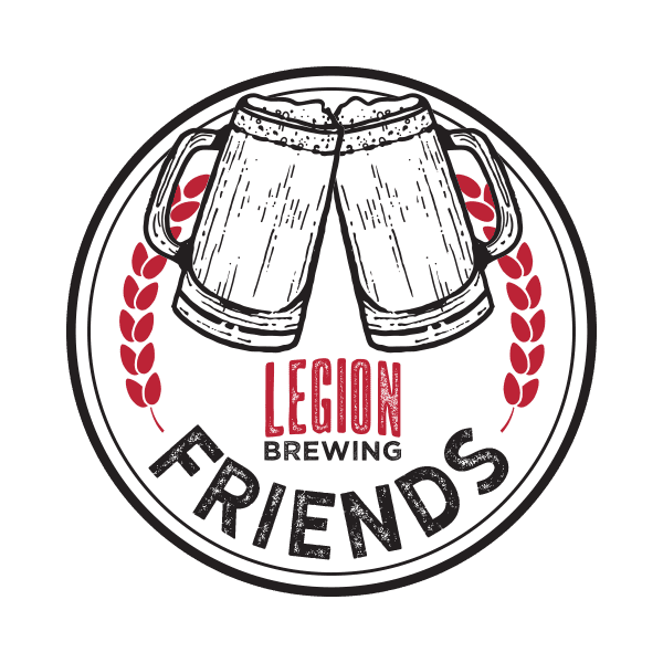 Legion Brewing Friends Loyalty Logo Coin