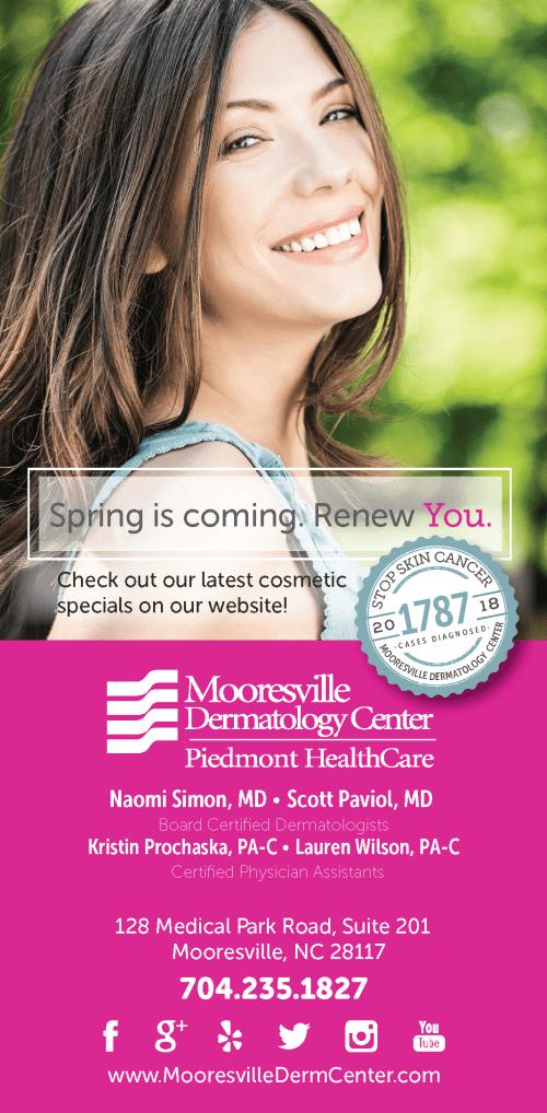 Mooresville Dermatology – Spring Renew