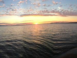 Burlington Vermont Sunset