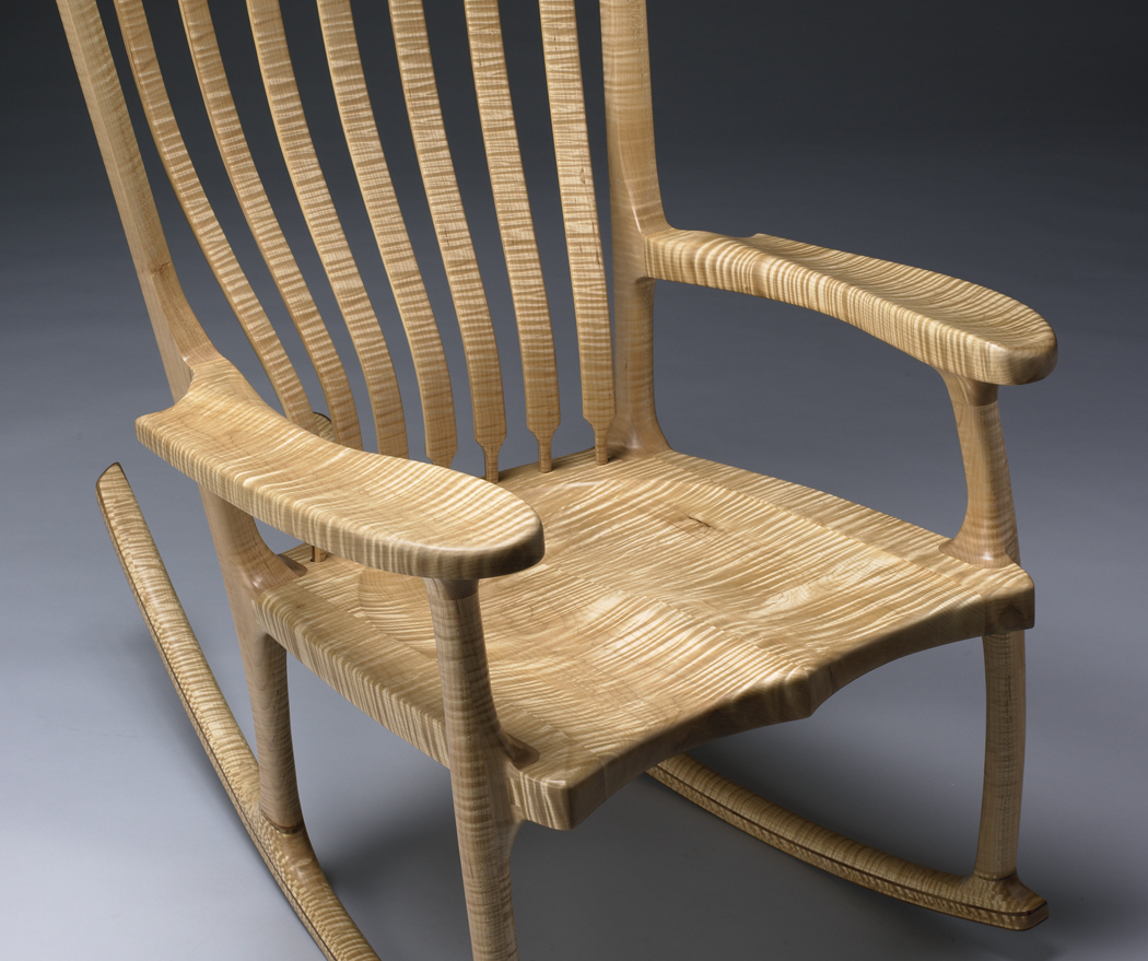 Rocking Chair Kits In The Studio With Kit Clark Vermont Furniture Maker