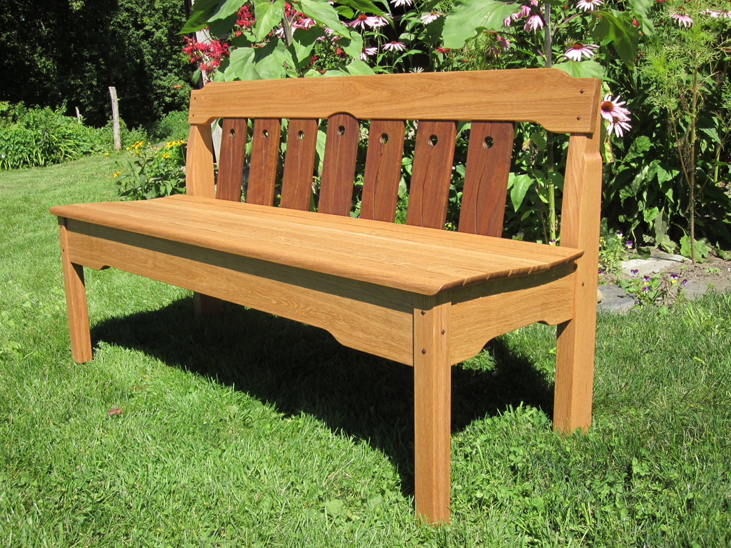 Bench Chairs Garden Benches Designed By Vermont Furniture Makers