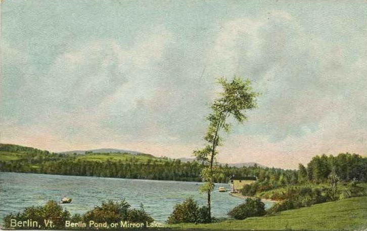 Berlin Pond, or Mirror Lake, Berlin, Vermont
