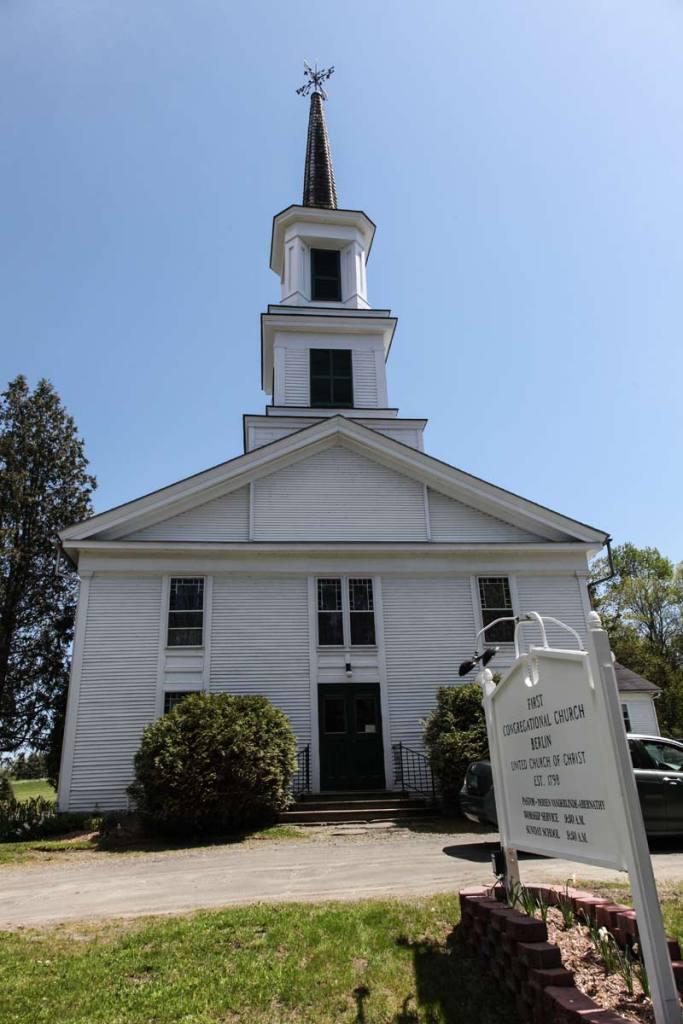 Congregational Church in Berlin Vermont
