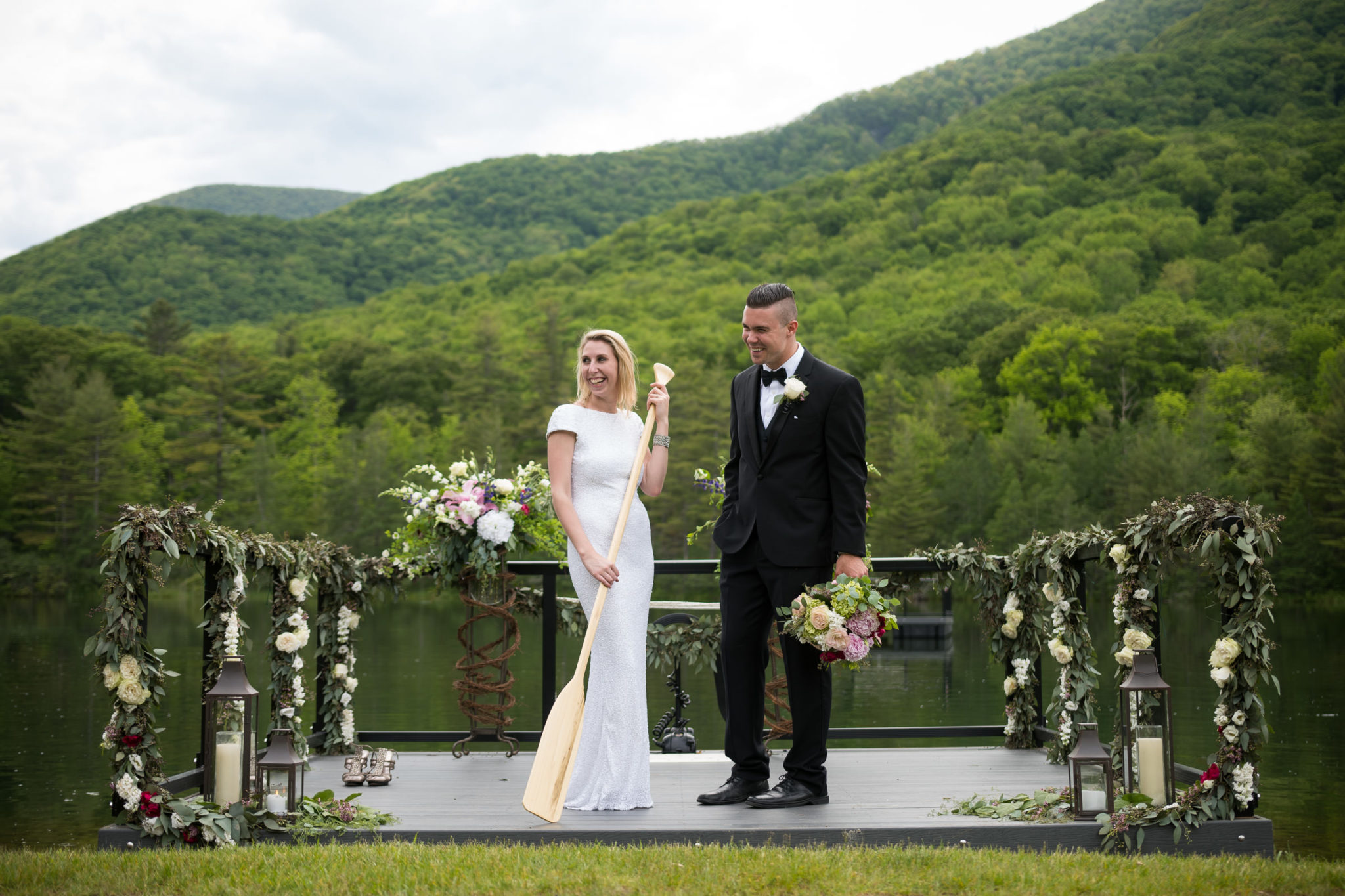 equinox resort pond pavilion wedding