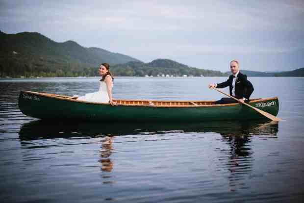 Lake Dunmore Vermont Wedding