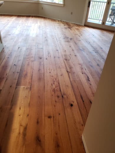 Reclaimed Wide Plank Flooring From Vermont Plank Flooring