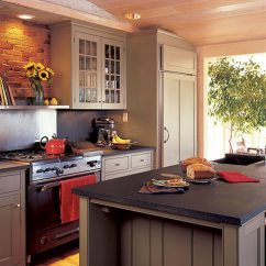 Soapstone Kitchen Tall Square Table Countertops Vermont Beautiful Featuring Custom