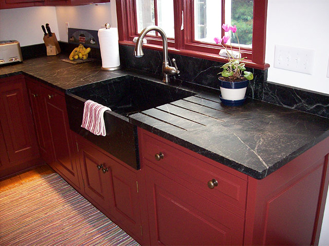 old kitchen sink with drainboard track lighting vermont soapstone – custom manufacturer of ...