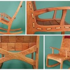 Handmade Rocking Chairs New England Patriots Chair Sink Into A Quilted Vermont Woods Studios
