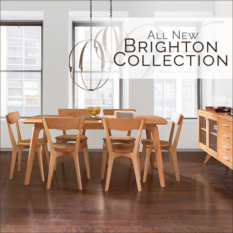 danish modern dining chair macys chairs introducing our brighton collection vermont woods set solid natural cherry wood studios